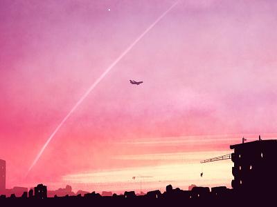 Amsterdam Mornings illustration digital illustration digital painting digital art