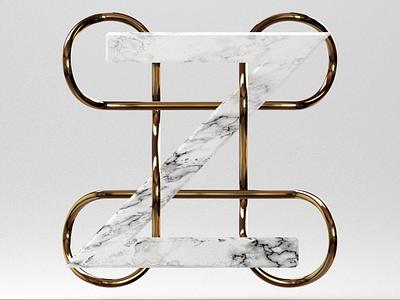 CMD + Z blender 3d gold marble command cmd z undo