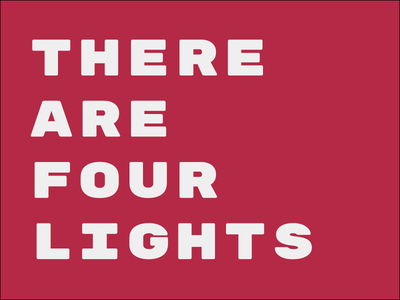 There Are Four Lights resist star trek