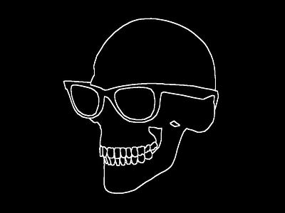 Skull Outline sobel skull blender 3d everyday