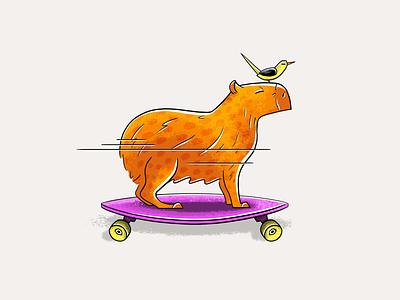 Go with the flow branding vector design illustration digital illustration