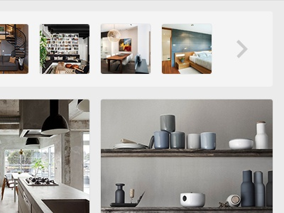 What is it? designspiration save grid content explore ui thumbnail