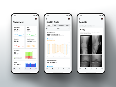 Healthcare iPhone app for Patients