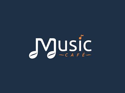 Logo design for Music Cafe restaurant cafe cafe logo music brand development branding design brand identity brand design branding brand logo design