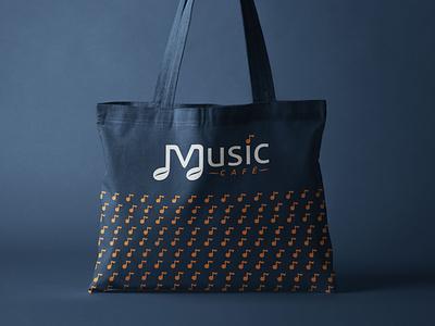 Music Cafe - 6 part cafe branding design agency restaurant cafe logo branding design branding brand identity brand development brand design brand