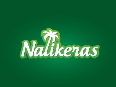 Nalikeras Coconut Oil Manufacturer Logo coconut typogaphy logo branding