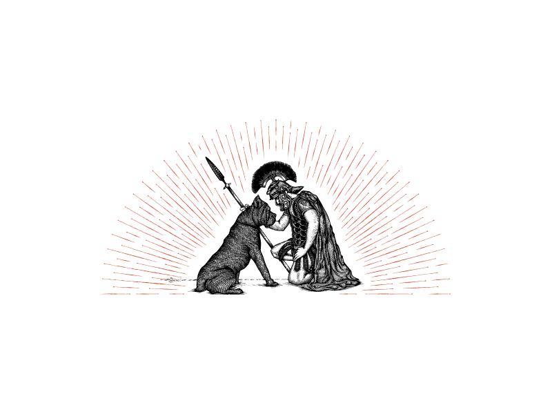 Untiltheendwine illustration by jcdesevre