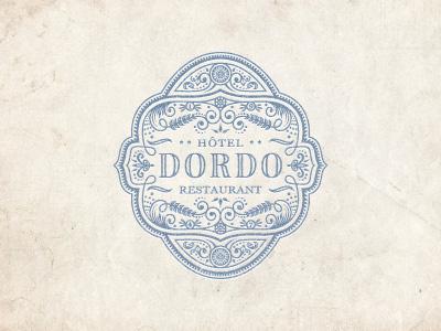 Dordo jcdesevre logo logo design logo designer emblem french vector retro art design vintage flourish graphic