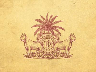 JD wine retro jcdesevre graphic emblem vintage illustration logo design logo
