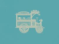 Candies Vintage Car