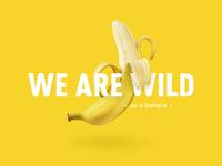 wild as a banana