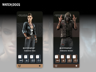 Watchdogs watchdogs app ui design