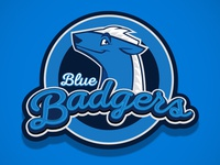 Blue Badgers Logo
