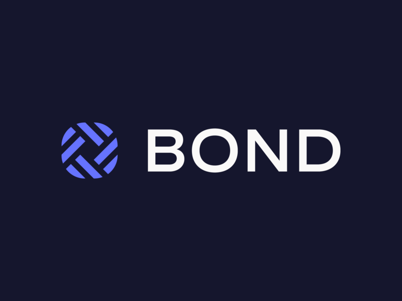 Bond Logo Lockup fintech finance logo identity symbol branding typography math times joy
