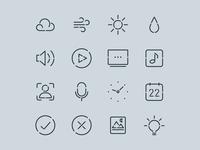 PLEN Cube Icon System