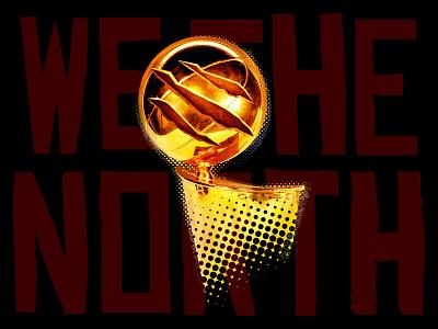 North Kings creative homage fanart toronto raptors basketball trophy canada north champion nba raptors toronto