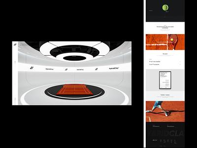 Hybrid Clay Experience Lab clean minimal typography ui design ui 3d transition animation landing page vietnam design