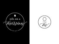 Oils on a Mission Logo