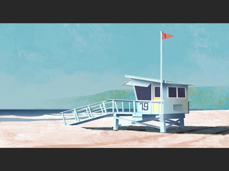 swimming prohibited colorartist visdev keyart illustration concept design concept art background design artwork animation