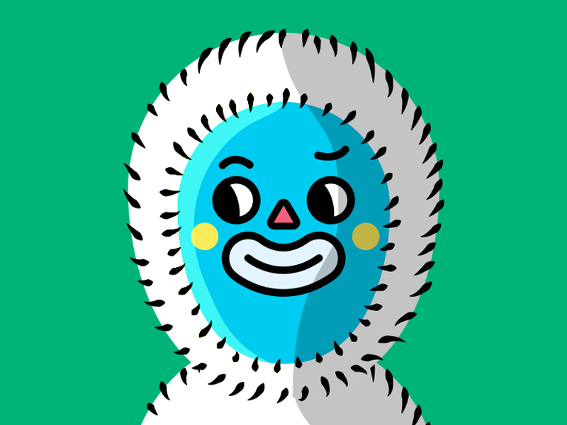 Eskimo eskimo illustration babitas character design