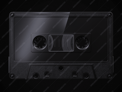 UNDEAD'S MIX '80 | Cassette Tape Mock-up cassette photorealistic photorealistic mockup mockup psd mockup design mock-up mockups mockup retro vintage cassette tape octanerender octane cinema4d c4d 3d art 3d