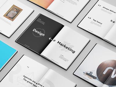 Rareview Manifesto manifesto book print design branding typography rareview design