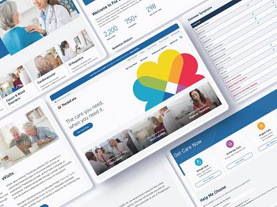 ThedaCare Healthcare Website & Style Guide enterprise ux enterprise branding wordpress development wordpress ux website design ui rareview