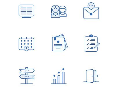 Consistent Icon Set ✅ vector ui logo illustration graphic design branding minimal icon flat design