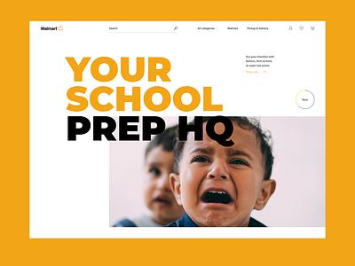 Walmart header redesign design typography web ui slider slideshow header walmart