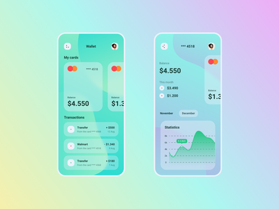 Bank app concept design application app design app ux ui