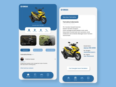 UI UX Yamaha app interfacedesign interface app web design uxdesign ux uiux uidesign ui