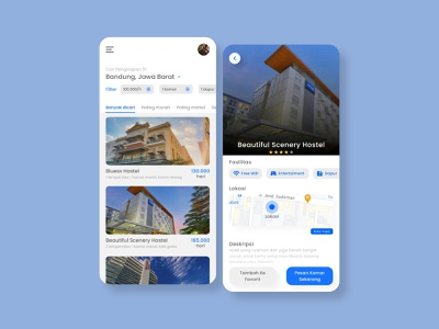 UI UX for hotel booking app interfacedesign interface app web design uxdesign ux uiux uidesign ui