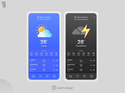 Weather Apps interfacedesign interface app web design uxdesign ux uiux uidesign ui