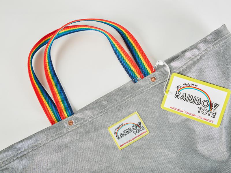 The Original Rainbow Branding vintage retro rainbow fashion packaging design vector logo design branding
