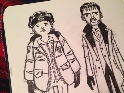 Fargo sketches