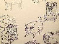 Pug sketches