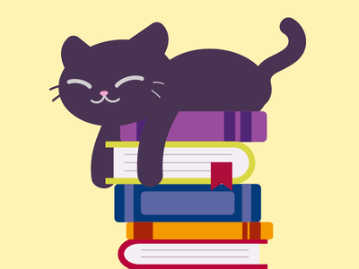 Bookworm Kitty