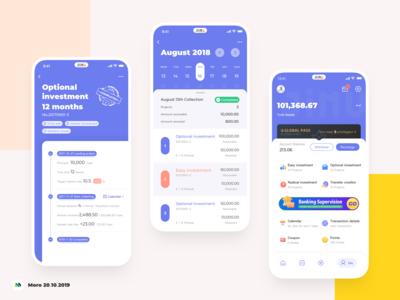 Jimubox financial App redesign