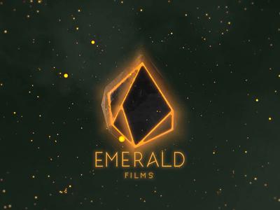 Emerald Films Intro 3d intro vfx logo animation