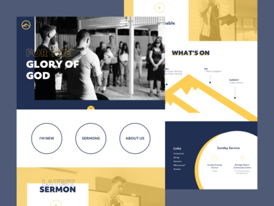 Faith Church - Website Redesign