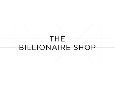 Logo – The Billionaire Shop lifestyle fashion exclusive billionaire money white black logo