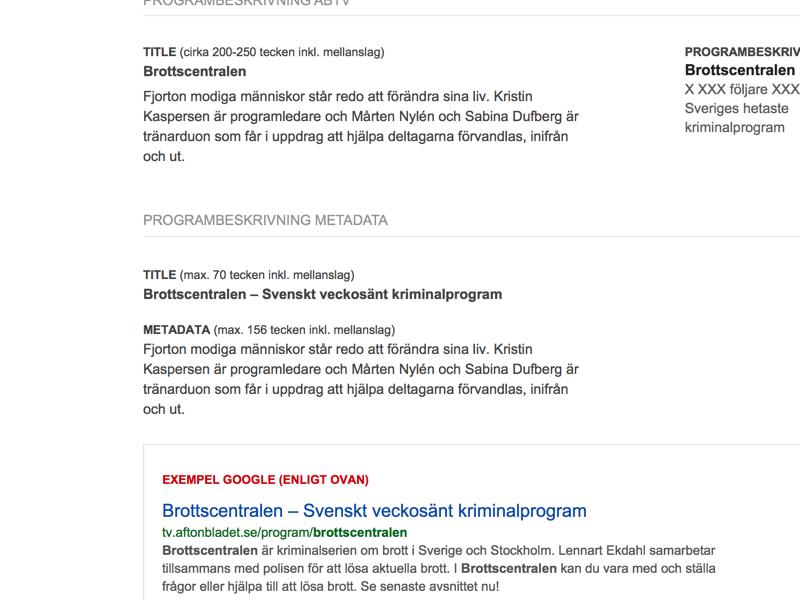 Metadata Manual W.I.P. typography lineheight title heading arial sans-serif whitespace link google facebook metadata