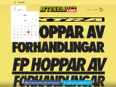 Aftonbladet TBT
