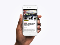 Aftonbladet as Facebook Instant Article