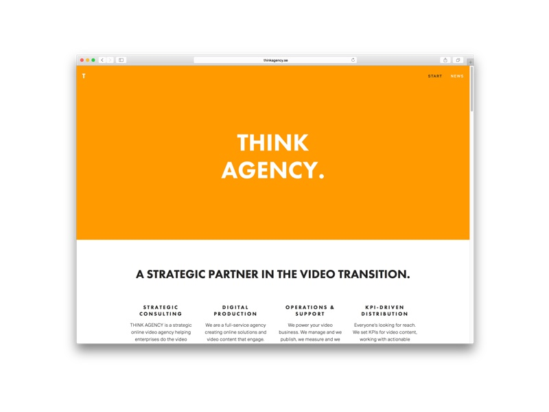 Think Agency squarespace