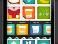 Icon Selection - Giftiki App - Close Up