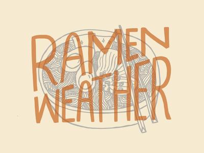 Ramen Weather!