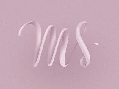 typography / initials