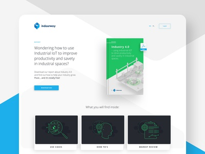 Report Landing Page