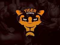 Logo Tiger Fitness
